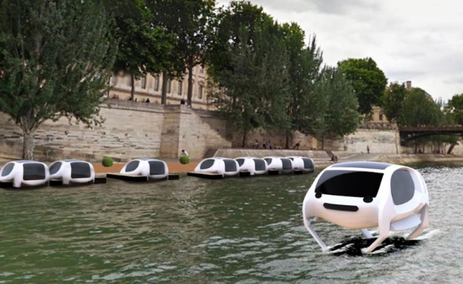 Les «Sea Bubbles» bientôt disponibles sur la Seine àParis