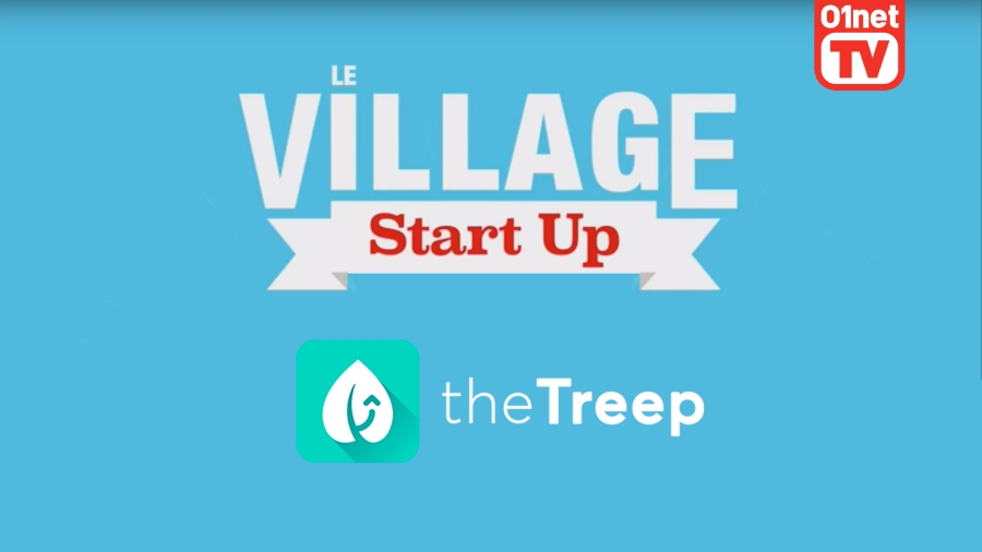 the Treep « l'appli du moment » par le Village Start Up de 01net