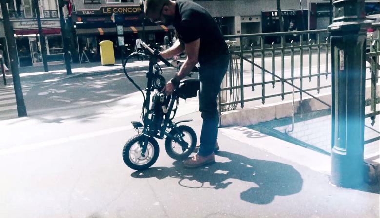 Swiboo, le vélo électrique qui  facilite les transports en commun!